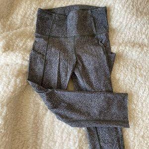 Lululemon cropped printed leggings